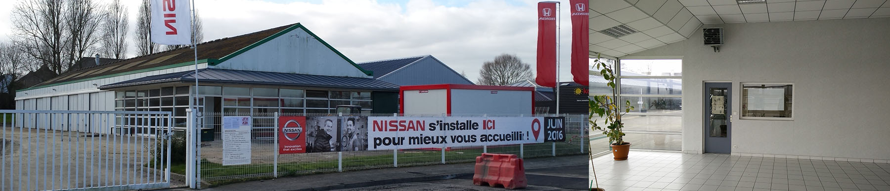 CONCESSION NISSAN à ST JOUAN DES GUERETS (35)
