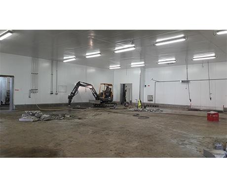 Construction batiment industriel rennes
