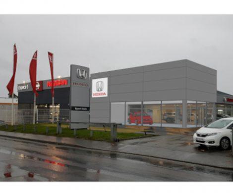 Un nouveau show-room pour la concession HONDA à St Jouan des Guérets (35)