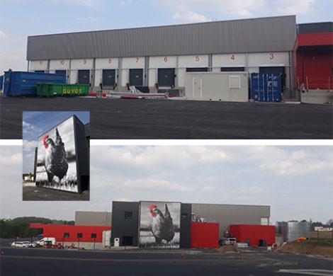 La réception de la plateforme logistique pour le Groupe LDC à Ploërmel (56) a été prononcée…