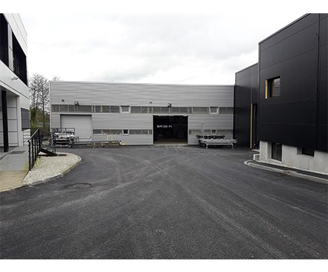 Extension du site industriel IOPP à POLIGNE (35)