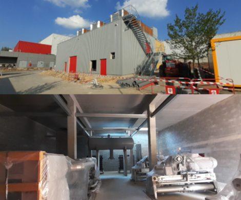 Une nouvelle salle des machines NH3 chez BAHIER à Sceaux sur Huisne (72)