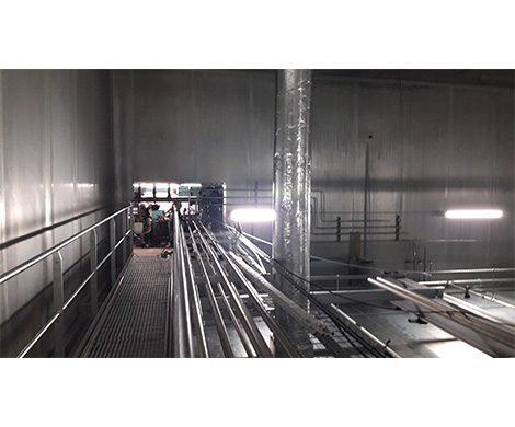 Extension, restructuration de l'usine agroalimentaire Les Rillettes BAHIER à Sceaux sur Huisne (72)