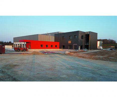 construction d'une plateforme logistique pour le Groupe LDC à Ploërmel (56)